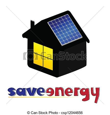 Panels clipart saving energy Of Clipart energy vector Vector