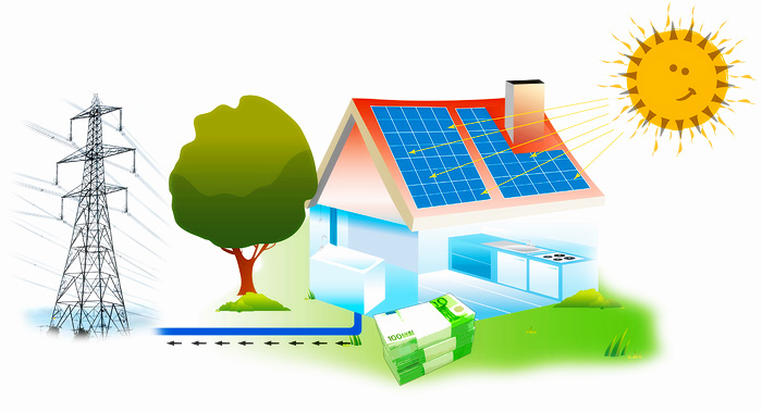 Panels clipart saving energy For your by money only