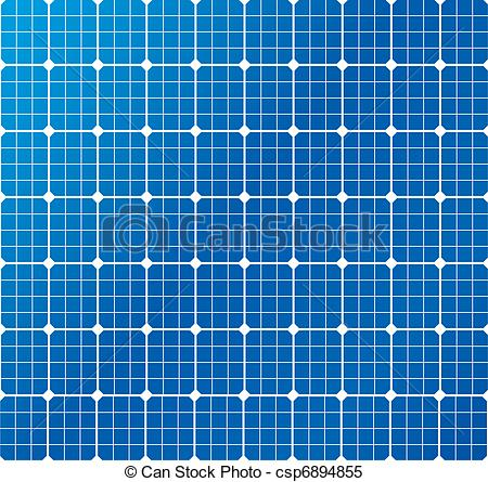 Panels clipart solar cell  Vector of a Clipart