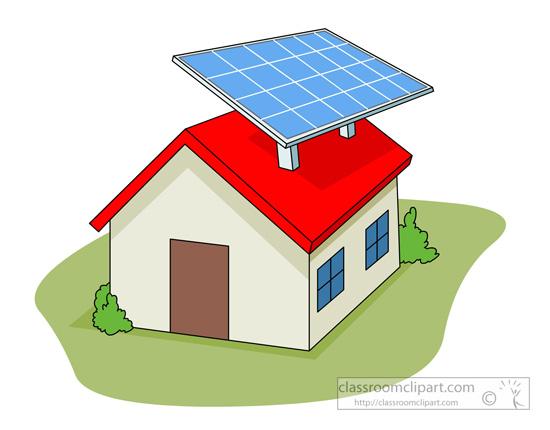 Panels clipart solar cell Panel Clipart Solar alternative_energy_source_solar_panel_on_house_02 Clipart