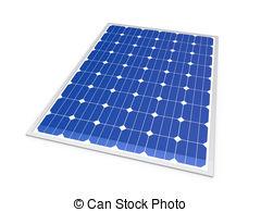 Panels clipart solor Power Solar Illustrations Stock 3d