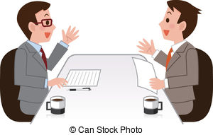 Panels clipart team discussion  Business Art Search Team