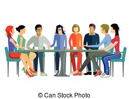 Panels clipart team discussion CoraMax5/1  308 Illustration Images