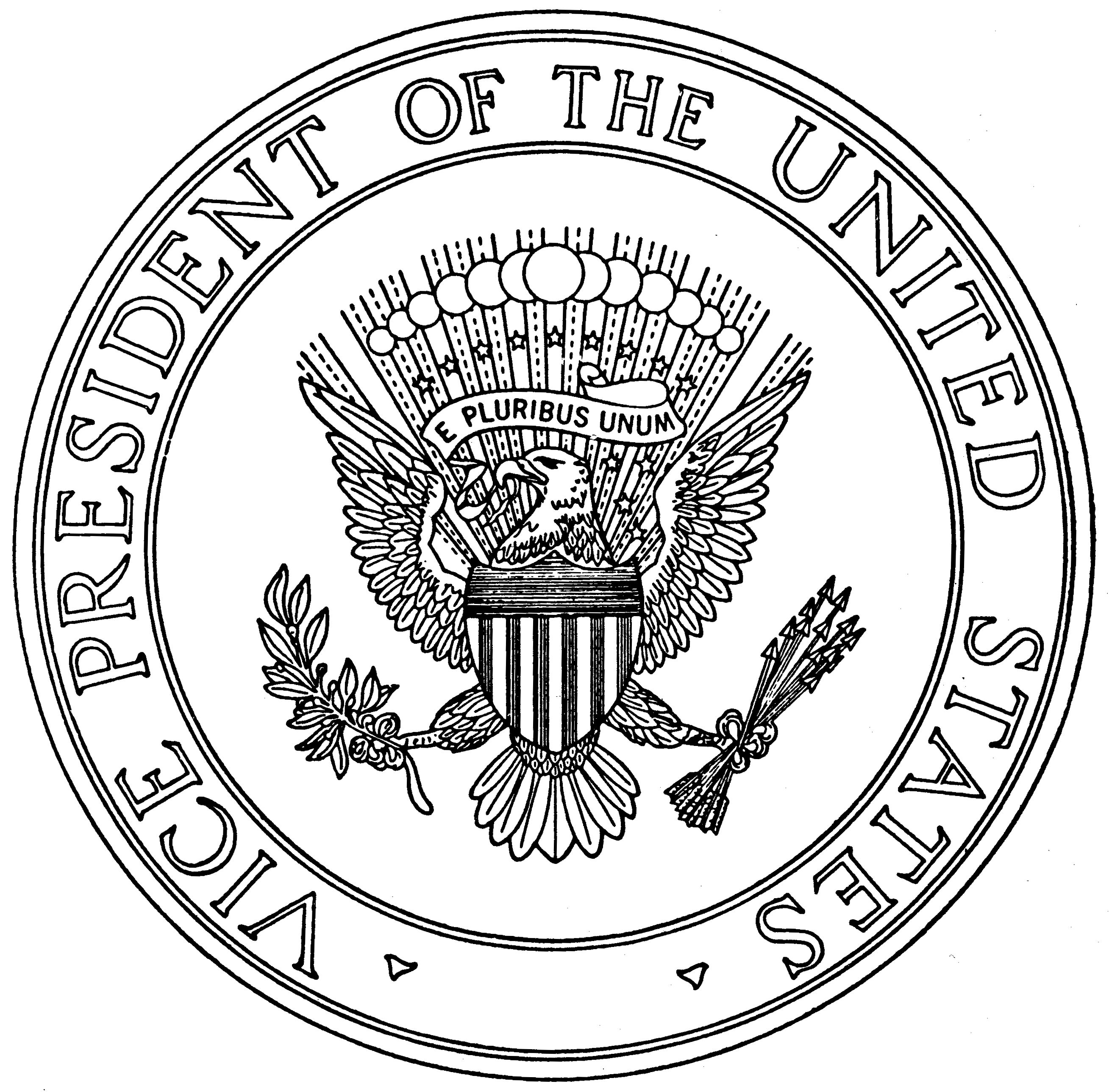 Panels clipart vice president Cliparts Clipart presidential The seal