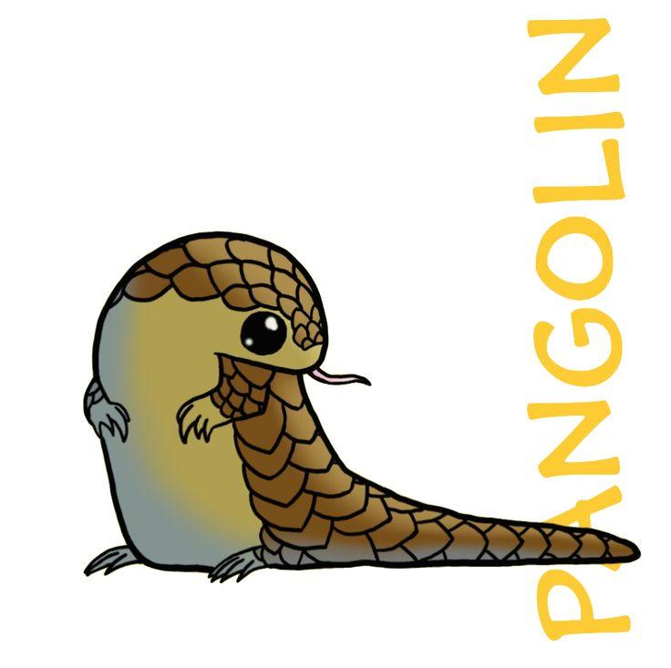 Pangolin clipart Penguin Clipart On 54 best Pinterest pangolins