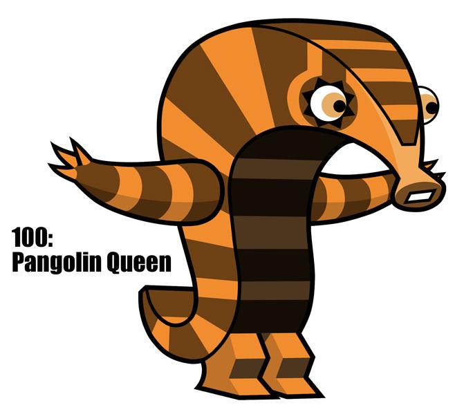 Pangolin clipart Penguin Clipart FANDOM Queen Hero powered 108
