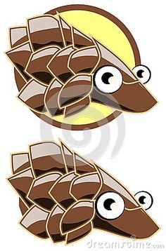 Pangolin clipart Penguin Clipart Scaly mammal face Crafting Google