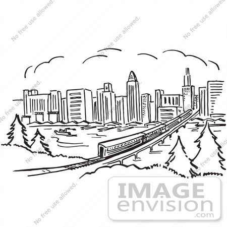 Panorama clipart new york skyline Clipart New york York collection