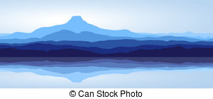 Panorama clipart paris france Panorama and Clip mountains of