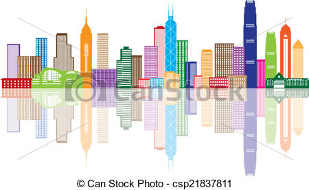Panorama clipart animated Color Hong Color Clip Vector