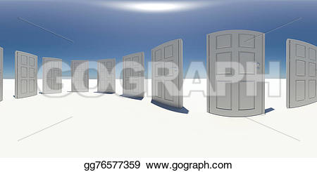 Panorama clipart animated White Clipart Spherical sky sky