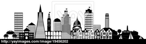 Panorama clipart paris france Clip Art City San Francisco