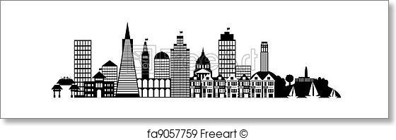 Panorama clipart city building #2
