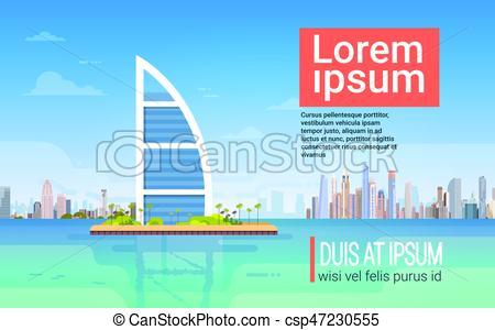Business clipart skyline  Skyline And Dubai Skyline