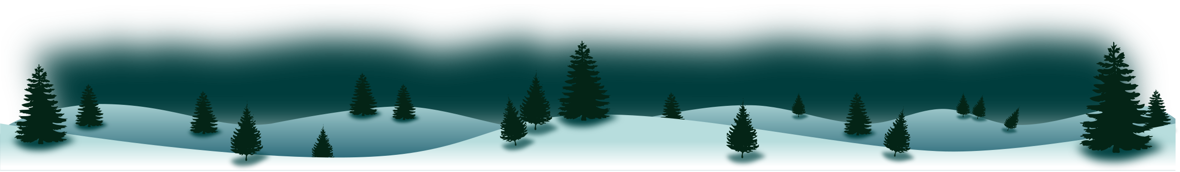 Panorama clipart forest Panorama Winter Winter Panorama Forest