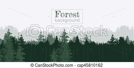 Panorama clipart forest Background background Clip Forest