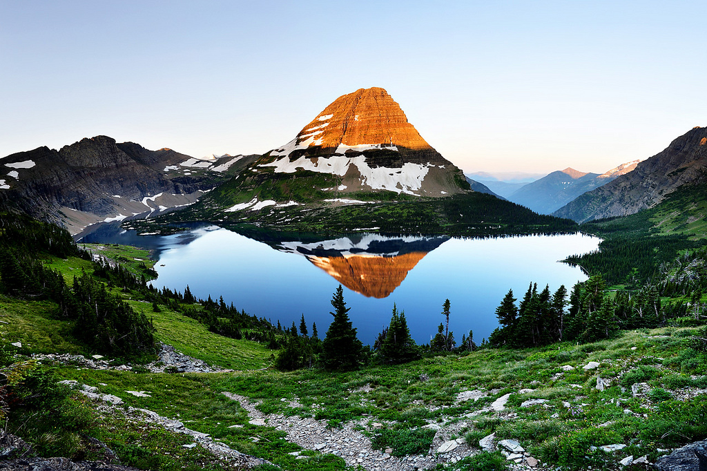 Panorama clipart glacier national park The  the reddit: of