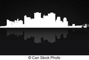 Panorama clipart manhattan Illustration York panorama panorama Manhattan