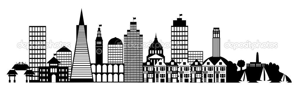 Panorama clipart mexico city Skyline san art Mexico (68+)