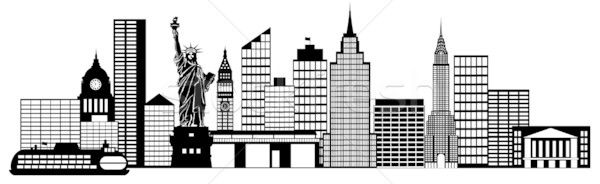 Panorama clipart new york skyline Pinterest  york Illustration New