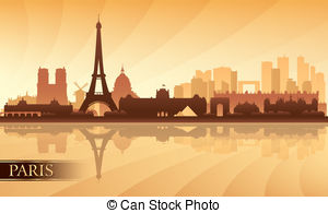 Panorama clipart paris city Background City Art Color Paris