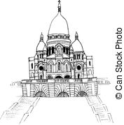 Panorama clipart sacre coeur In images Hand coeur Sacre