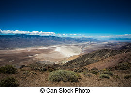 Panorama clipart valley Scenic Stock Death desert Valley