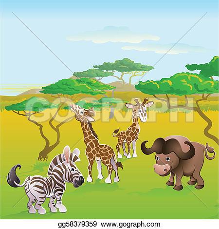 Safari clipart african safari That safari of animal cartoon