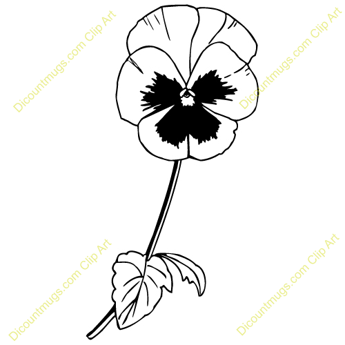 Pansy clipart butterfly vintage Clipart pansy%20clipart Panda Pansy Clipart