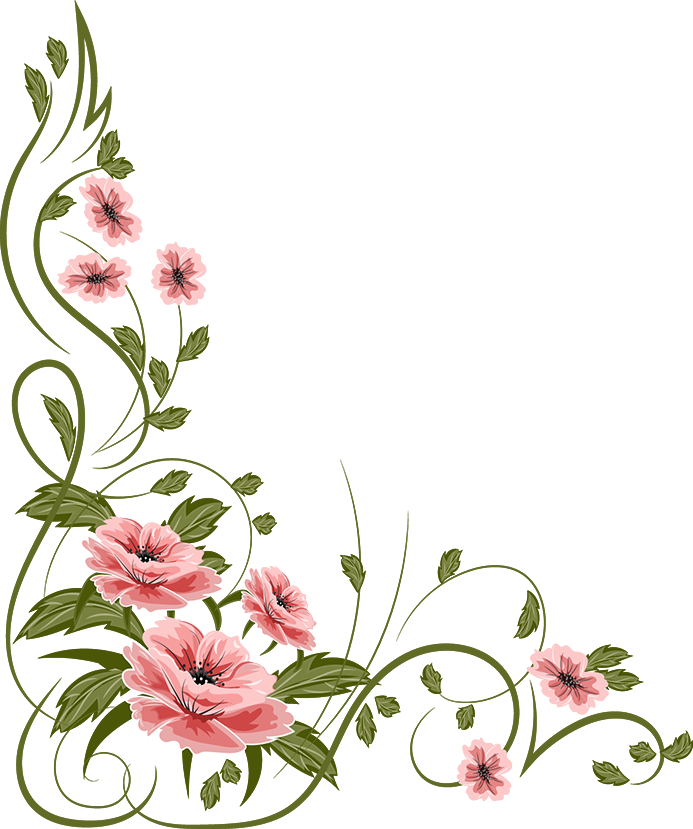 Pansy clipart border These free Flower clipart Clip
