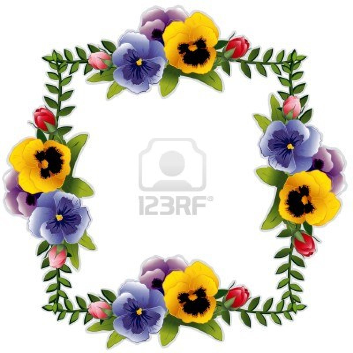 Pansy clipart border Images Pansy Panda Clipart pansy%20clipart