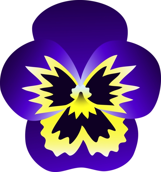Pansy clipart cartoon Cartoon Pansy Pictures Flower 516x550