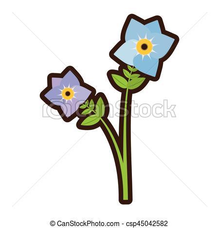 Pansy clipart cartoon Flower Vector of cartoon pansy