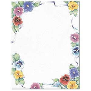 Pansy clipart spring flower #11