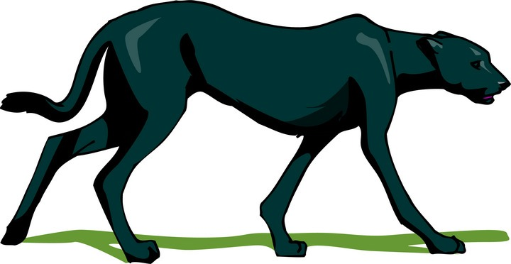 Panther clipart black thing Clipart Black Panther Panther Free