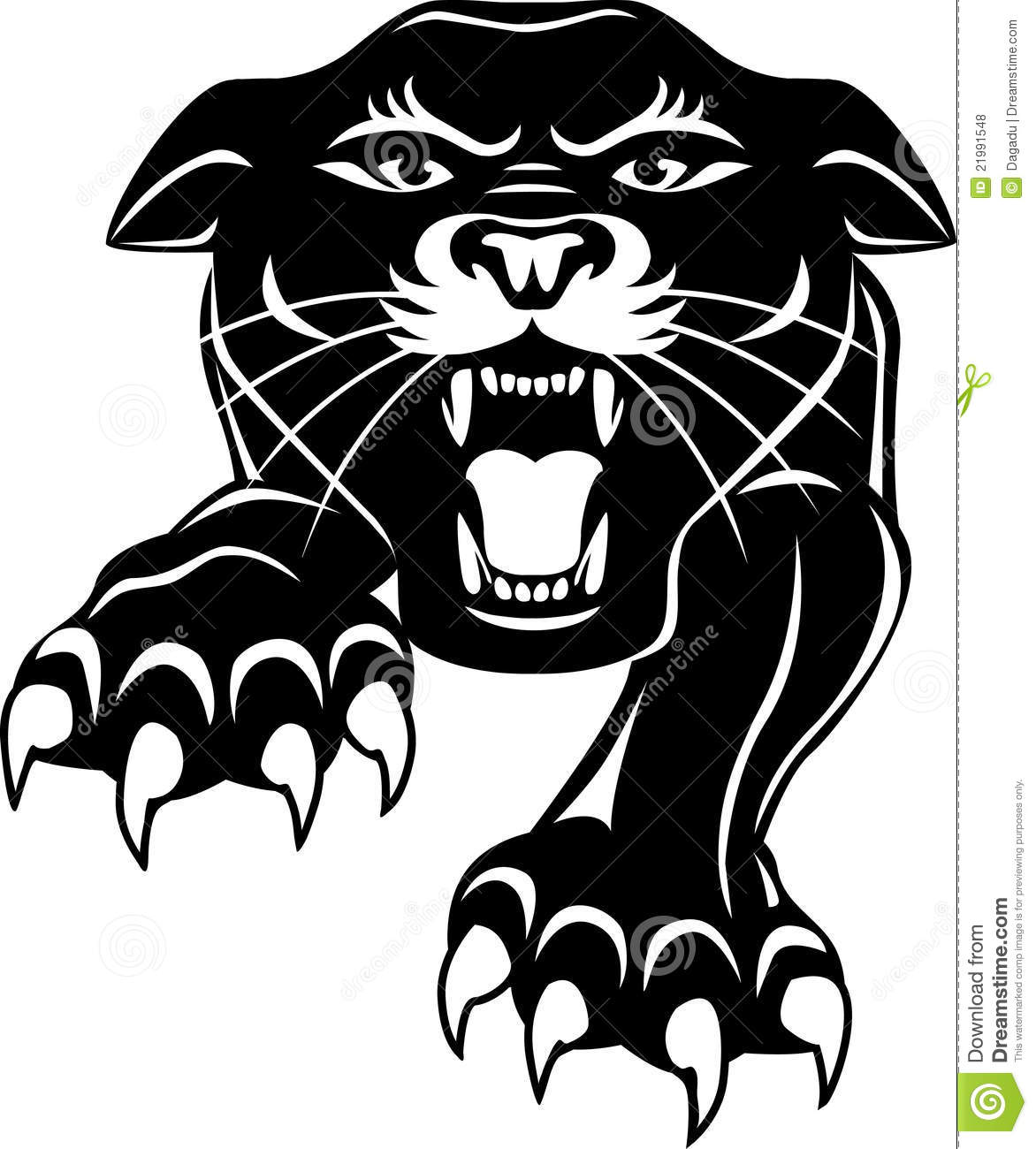 Panther clipart black thing Art head #8721 Clip Silhouettes