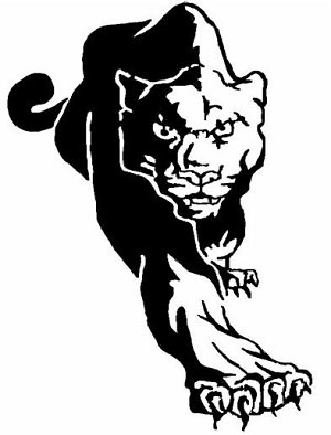 Panther clipart black thing Mascot clipart  Collection clipart