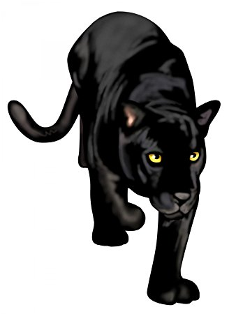 Black Panther clipart black thing And Panther Wall Stick in