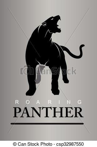 Panther clipart body Panther panther roaring full Clipart