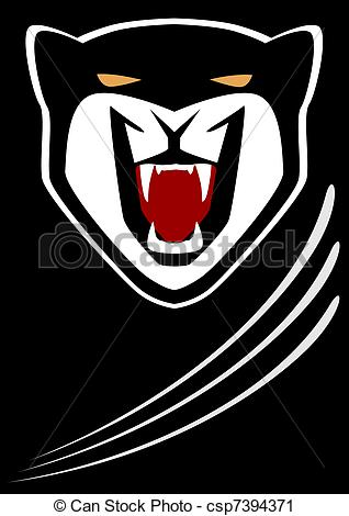 Panther clipart body Csp7394371 of Part the of