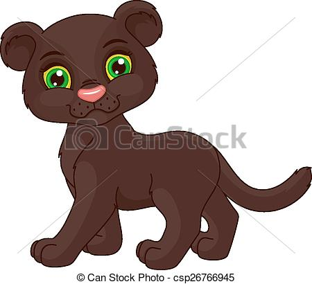 Black Panther clipart cute Panther  Cute panther a