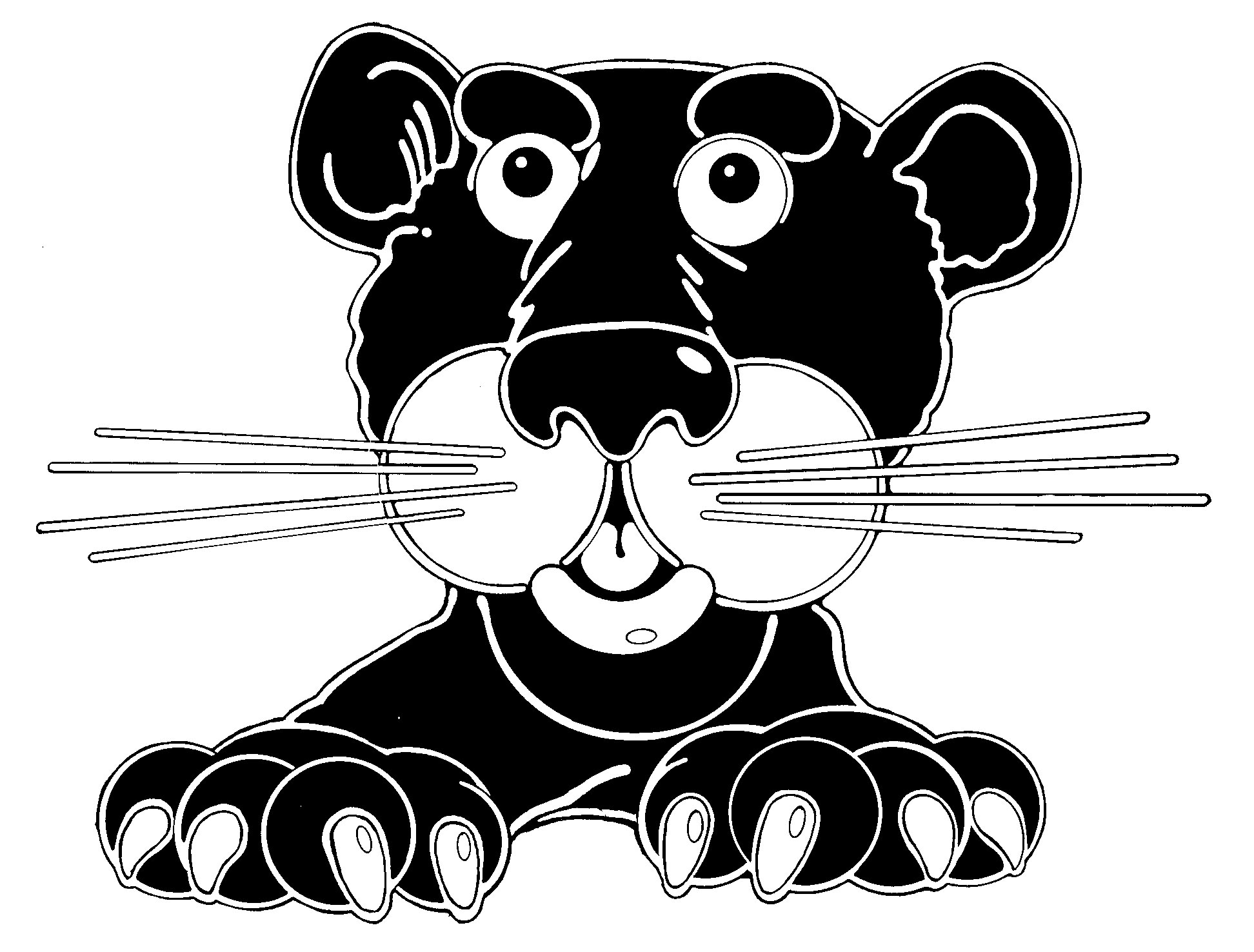 Black Panther clipart baby panther Cute Clipart Panther Cute Free
