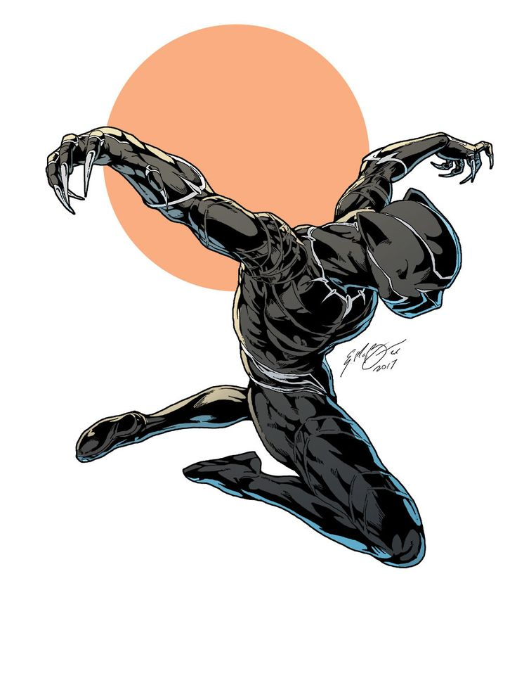 Dead clipart panther Best by Black Villains Heroes