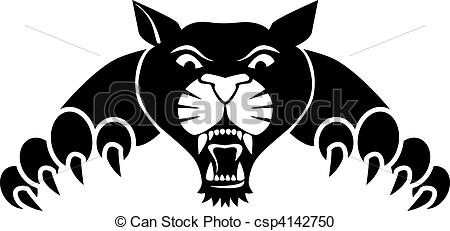 Black Panther clipart vector Clipart Clipart 61 81 Panther