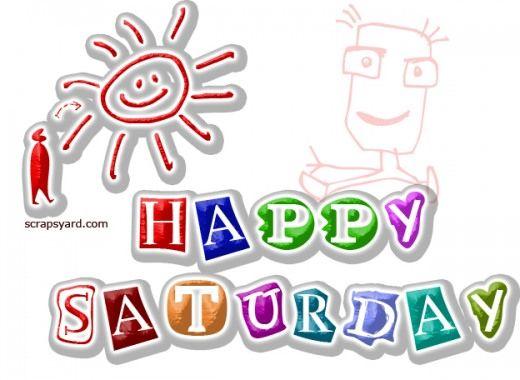 Saturday clipart happy saturday #2