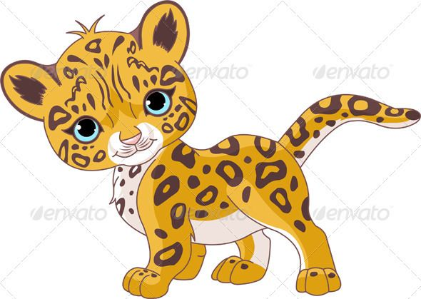 Bobcat clipart cute cartoon Psd) ai Pinterest web (