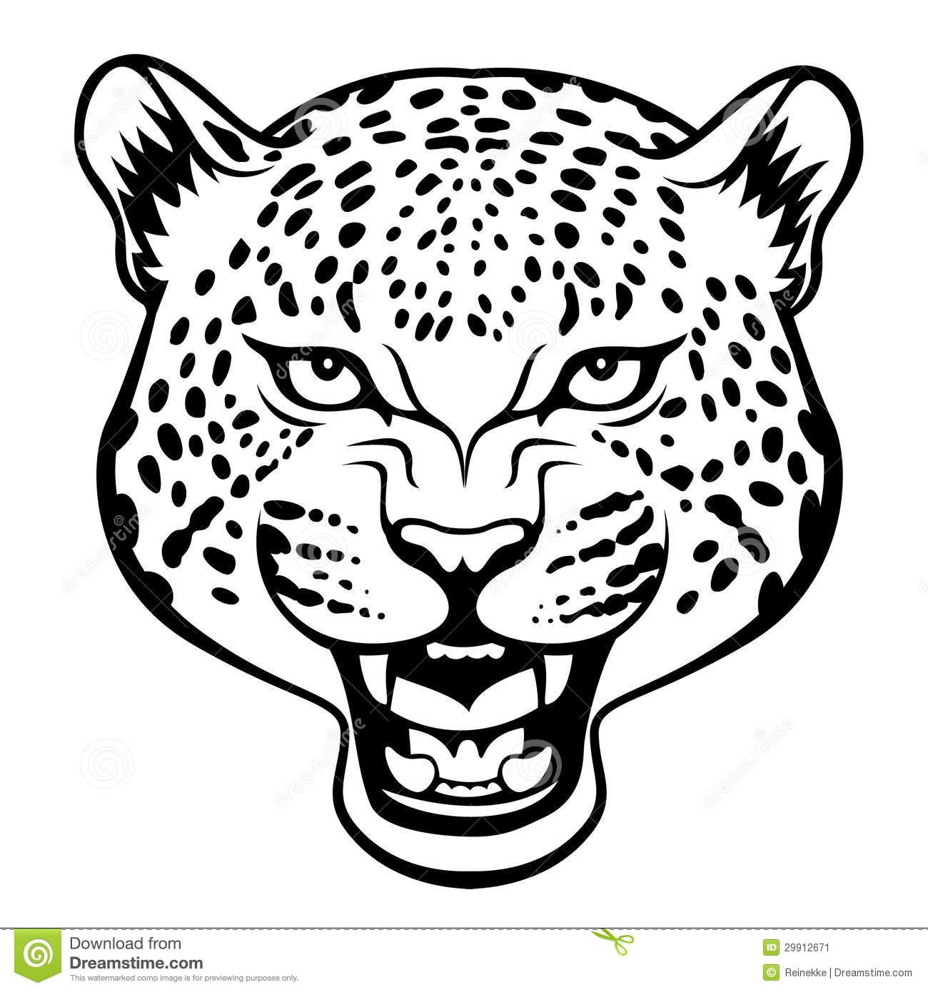 Leopard Skin clipart mascot #2