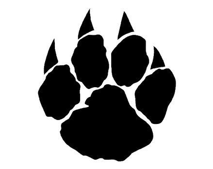 Wolverine clipart paw Art  Clip Download on