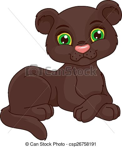 Tiiger clipart baby panther #3