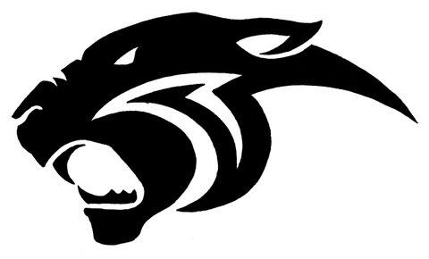 Panther clipart logo #10